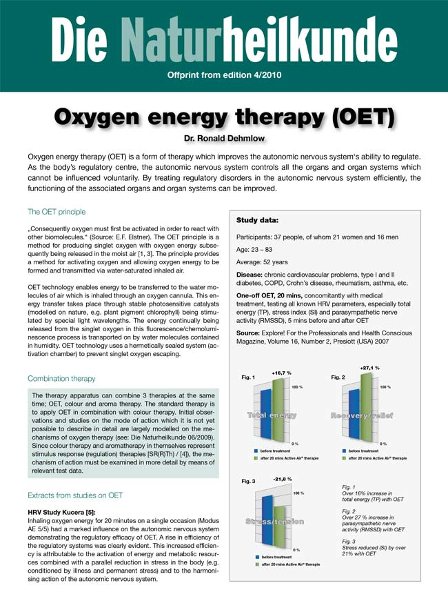 COPD and Oxygen Energy Therapy